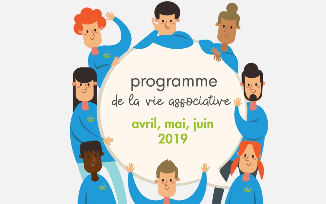 2019 - Programme avril - juin