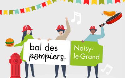 Burgers et crêpes au bal des pompiers de Noisy-le-Grand