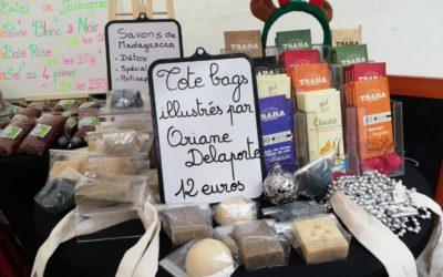 Retour sur nos dernières actions de 2019 : le marché de Noël et l'opération paquets cadeaux